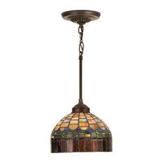 Stained glass pendant lighting houzz meyda tiffany meyda tiffany 18944 stained glass tiffany mini pendant candice collec pendant aloadofball Gallery