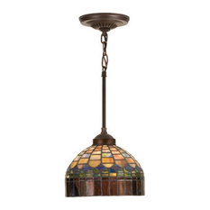 Stained glass pendant lighting houzz meyda tiffany meyda tiffany 18944 stained glass tiffany mini pendant candice collec pendant aloadofball Image collections