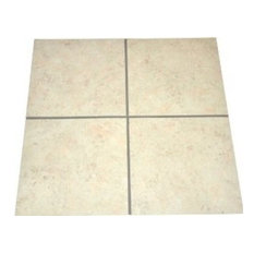 """12""""x12"""" DIY Grouted Luxury Vinyl Tiles, Treadstone Natural, Set of 36"""