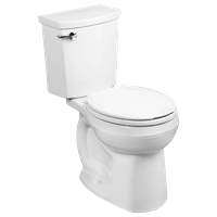 American Standard H2Optimum Siphonic Round Front Toilet, White