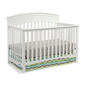 Graco Charleston 4-in-1 Convertible Crib, White