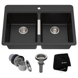 Contemporary Kitchen Sinks by Buildcom