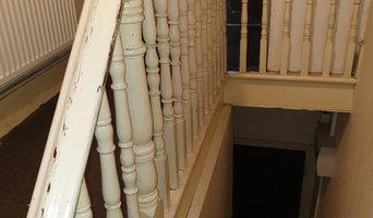 Interior hall, stairs & landing