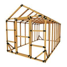 8x16 Standard Greenhouse Kit, No Floor