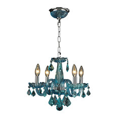 The Crystal Lighting Store (Authorized Dealer)   Clarion 4 Light Chrome  Finish Chandelier