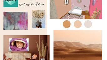 Planche d'inspiration Couleur du Sahara