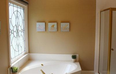 До и после: Переделка морально устаревшей ванной 14 кв.м.
