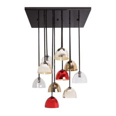 Bombarda Pendant Light, Red