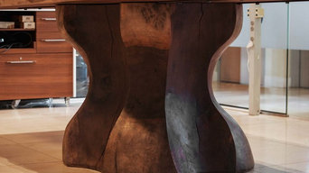 ATLANTIS - 300 years old Live Edge Conference Table