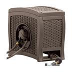 Aqua Winder Automatic Rewind Hose Reel, Brown