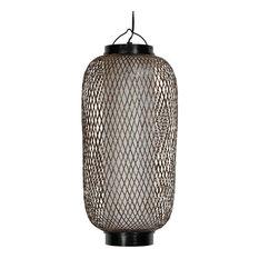 Japanese pendant lighting houzz oriental furniture 19 kirosawa japanese hanging lantern pendant lighting mozeypictures Images