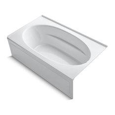 "Kohler Windward 72"" X 42"" Alcove Bath w/ Right-Hand Drain, White"