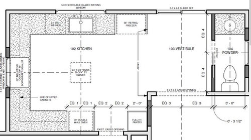 Help: Would like a small prep sink into 12x12 kitchen, no island