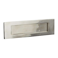 Letter Plate, 300mm, Polished Nickel