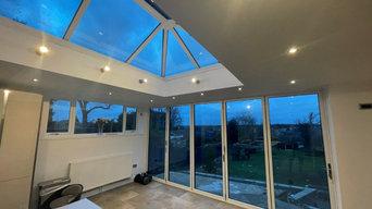 Kitchen Bifold & Roof Lantern