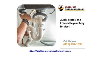 Contact plumbers Salt Lake City to get the best services