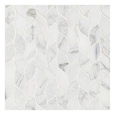 Calacatta Blanco Pattern Polished, Marble,