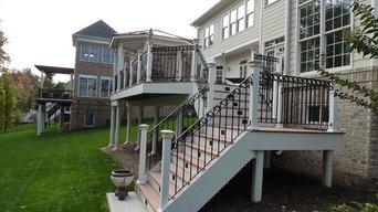 Deck, Gazebo and Outdoor Kitchen