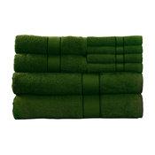 100% Cotton 8 Piece Bath Towel Set by Lavish Home, Green