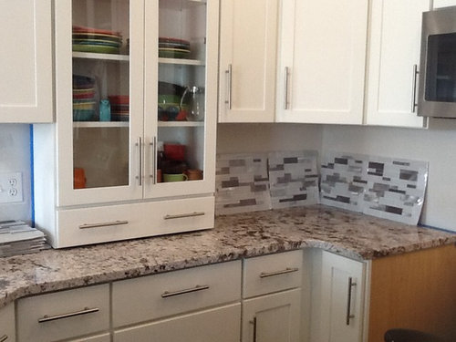 Is This Back Splash Too Busy For Granite