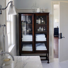 Armoire in Bathroom