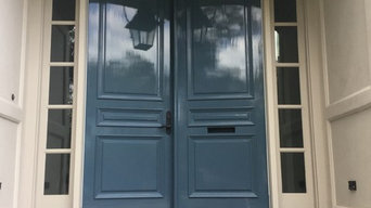 Front doors with high-gloss Fine Paints of Europe