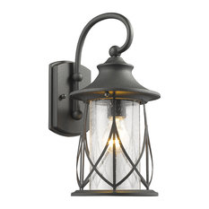 CHLOE Lighting, Inc.   Marhaus 1 Light Outdoor Wall Sconce, Black