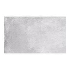 Wall and Floor Tiles, Matte Light Grey, Big, Set of 5 m²