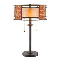 Parkwood 2 Light Table Lamp, Bronze