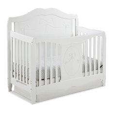 Storkcraft Princess 4-in-1 Convertible Crib, White