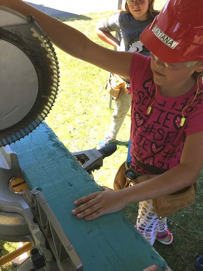 Summer Camp for Girls: Construction Edition
