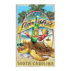 "Jim Mazzotta Turtly Relax in South Carolina Art Print, 24""x36"""