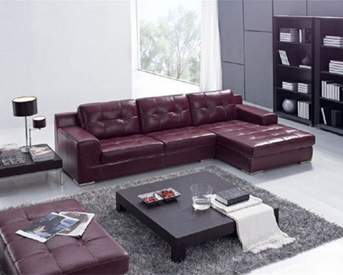 Exquisite Italian Leather Living Room Furniture   Sectional Sofas Part 70