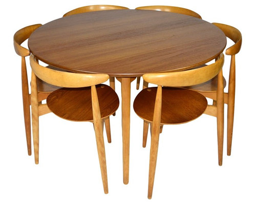 Mid Century Danish U0027Heartu0027 Dining Set By Hans Wegner For Fritz Hansen