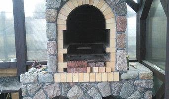 Печи, камины, барбекю, мозаика