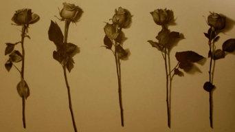 Rose Painting for Manhasset Bathroom