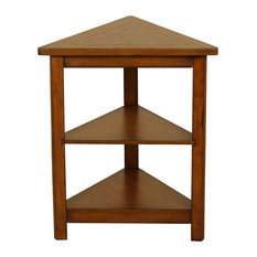 Exceptionnel Welcome Home Accents   Walnut Triangle Accent Table   Side Tables And End  Tables