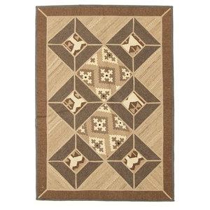 Kelim Mosaik Persian Rug, Hand-Woven Classic, 170x120 cm