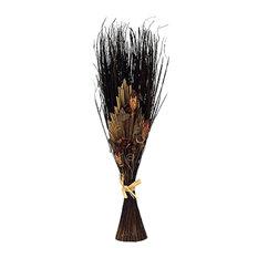 Dried Floral Standing Arrangement, Brown