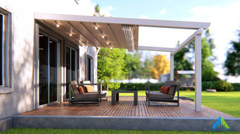 SKYLEAF Retractable roof pergola