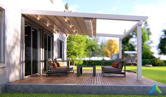 SKYLEAF Retractable roof pergola