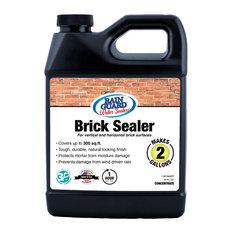 RainGuard Brick Sealer, Natural Transparent, Concentrate, Makes 2 Gallons