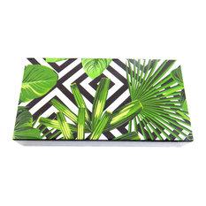 The Joy of Light Designer Matches Tropical Palms Embossed Matte Matchbox
