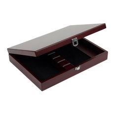 Wood Box Holds Gaucho Steak Knives