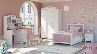 Romantisches Kinderzimmer für Mädchen Katharina