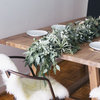 DIY: Freshen Up for the New Year With a Eucalyptus Table Garland