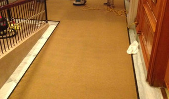Cleaning and restoring the carpets in the West Wing of The White House