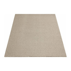 Square 12'x12' Weavers Guild Oyster Felt, Carpet Rug, Textured Loop