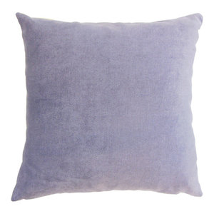 The Pillow Collection Ilayda Solid Bedding Sham Berry Queen//20 x 30