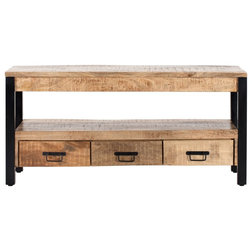 Industrial Entertainment Centers And Tv Stands by Madeleine Home Inc.